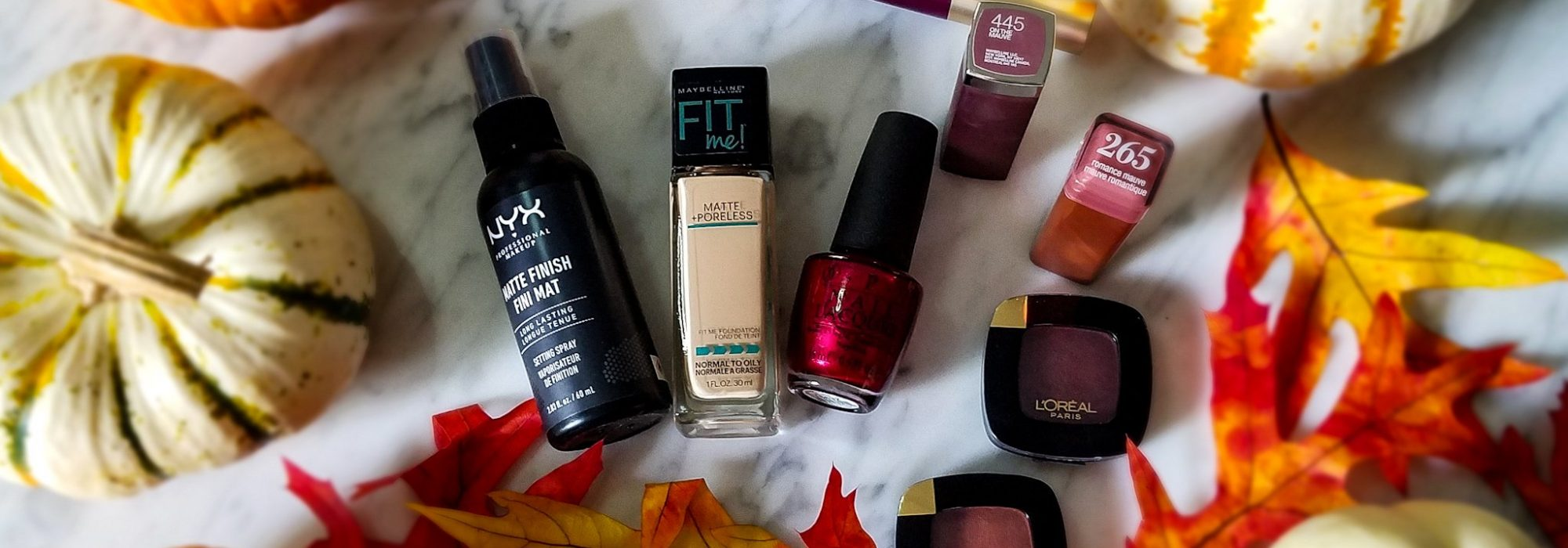 My Updated Fall Makeup From The Drugstore