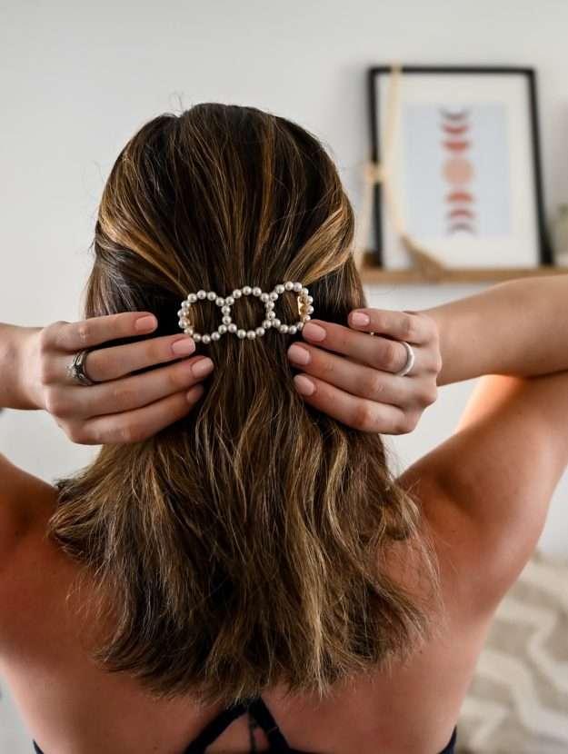 summer hair barrette