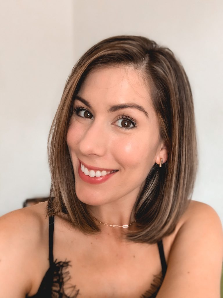 full coverage foundation on Maria Munoz