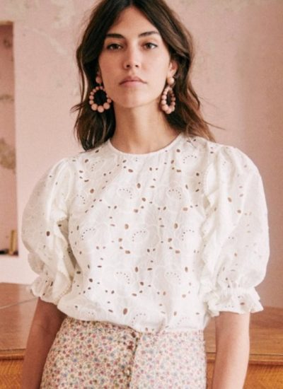 Style Trends for Summer- Eyelet Tops
