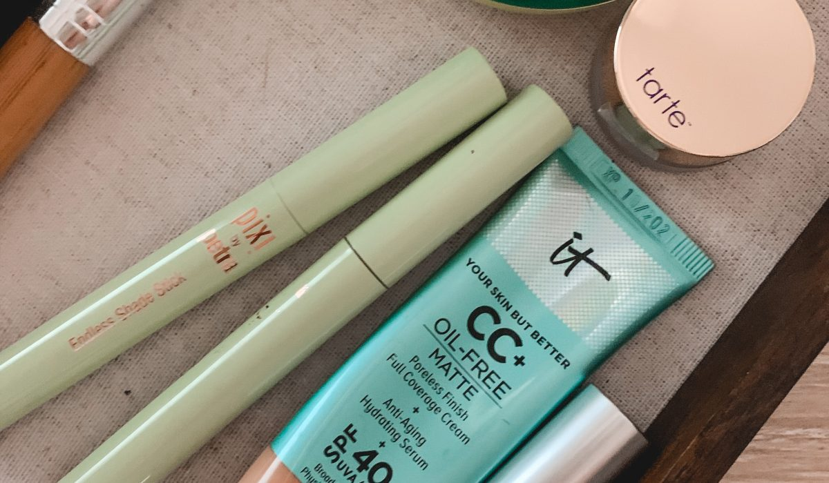 Summer glam makeup with Pixi's endless shade stick