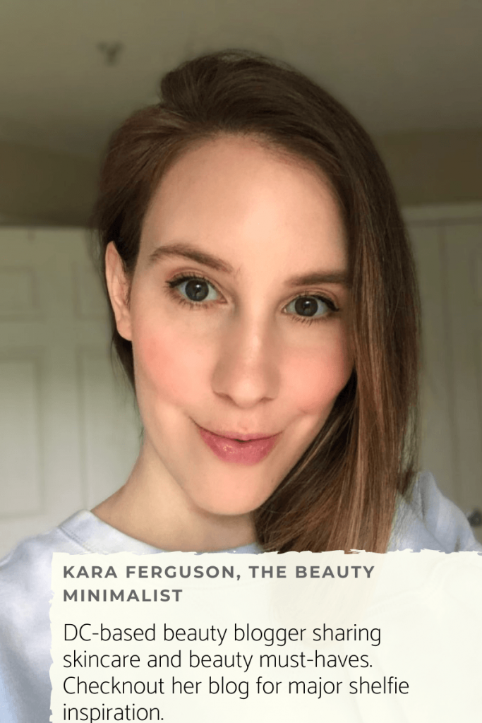 DC based beauty blogger Kara Ferguson of The Beauty Minimalist shares her skincare routine for dry skin.