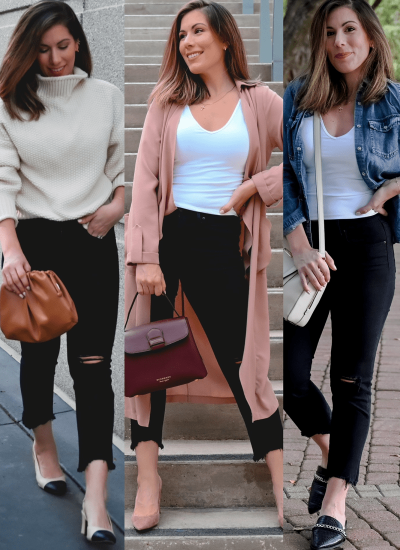 What To Wear with Black Jeans This Fall