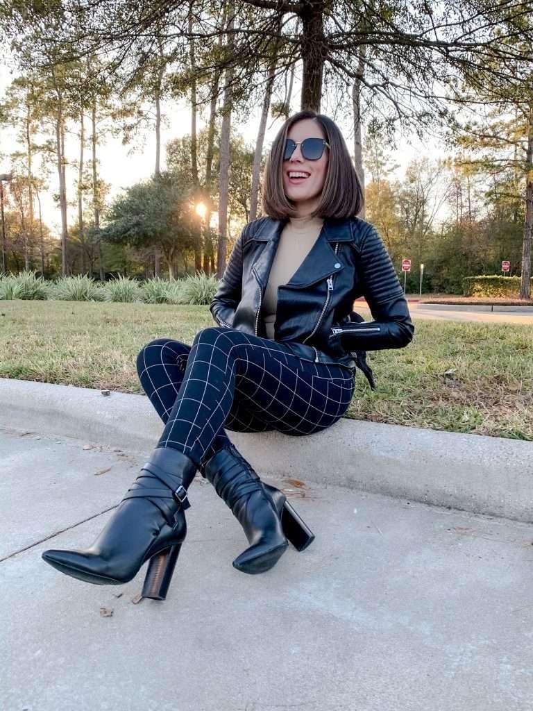 Houston style blogger Maria Munoz shares how to dress rocker chic style