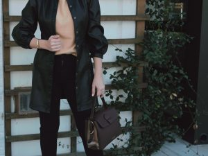 Houston style blogger Maria Munoz shares an autumn chic outfit