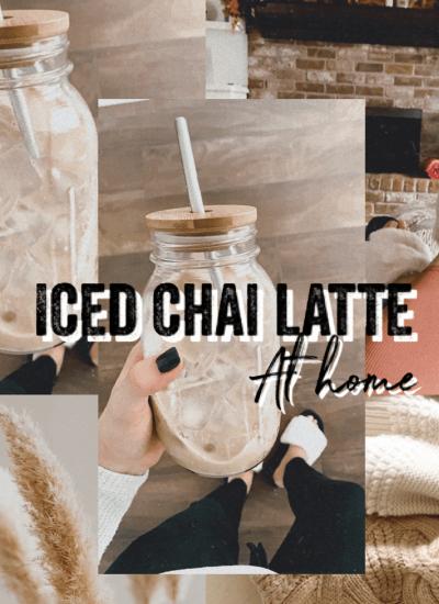 Starbucks Iced Chai Latte at Home