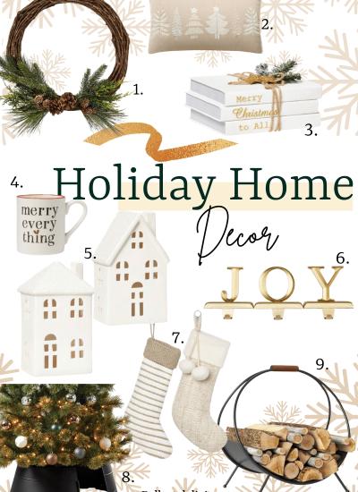 Holiday Home Decor at Target