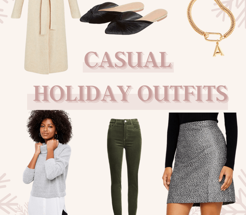 casual holiday outfits to wear this season