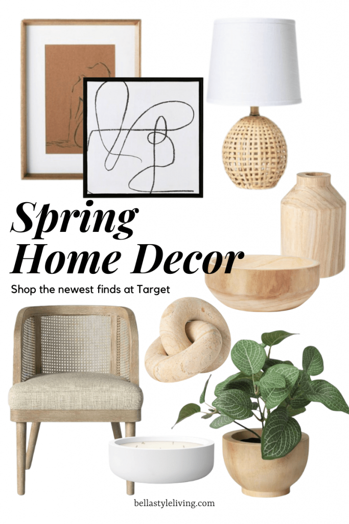 Target home decore finds for spring