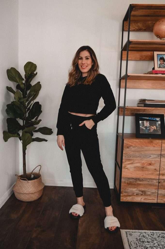 Houston style blogger Maria Munoz shares three cute loungewear sets from Amazon