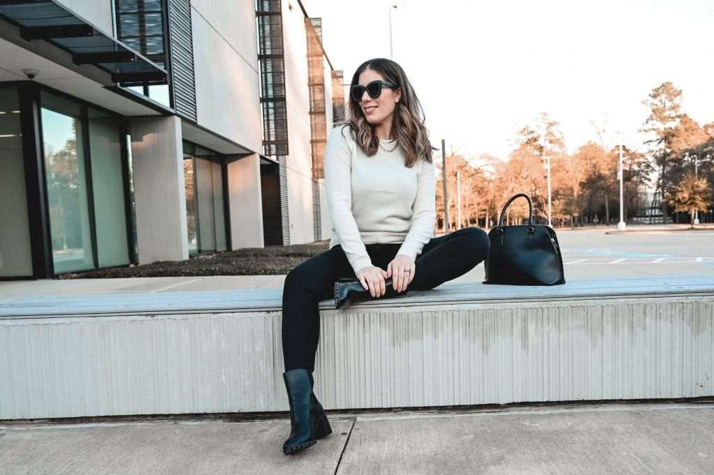 Houston style blogger shares an honest mott & bow skinny jeans review