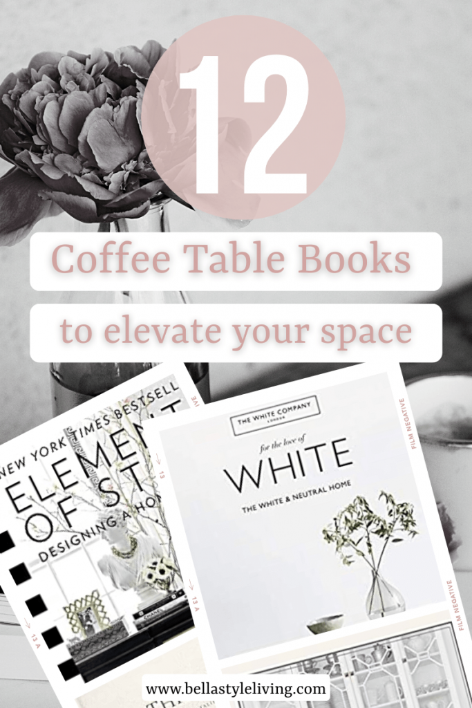12 coffee table books to decorate your home
