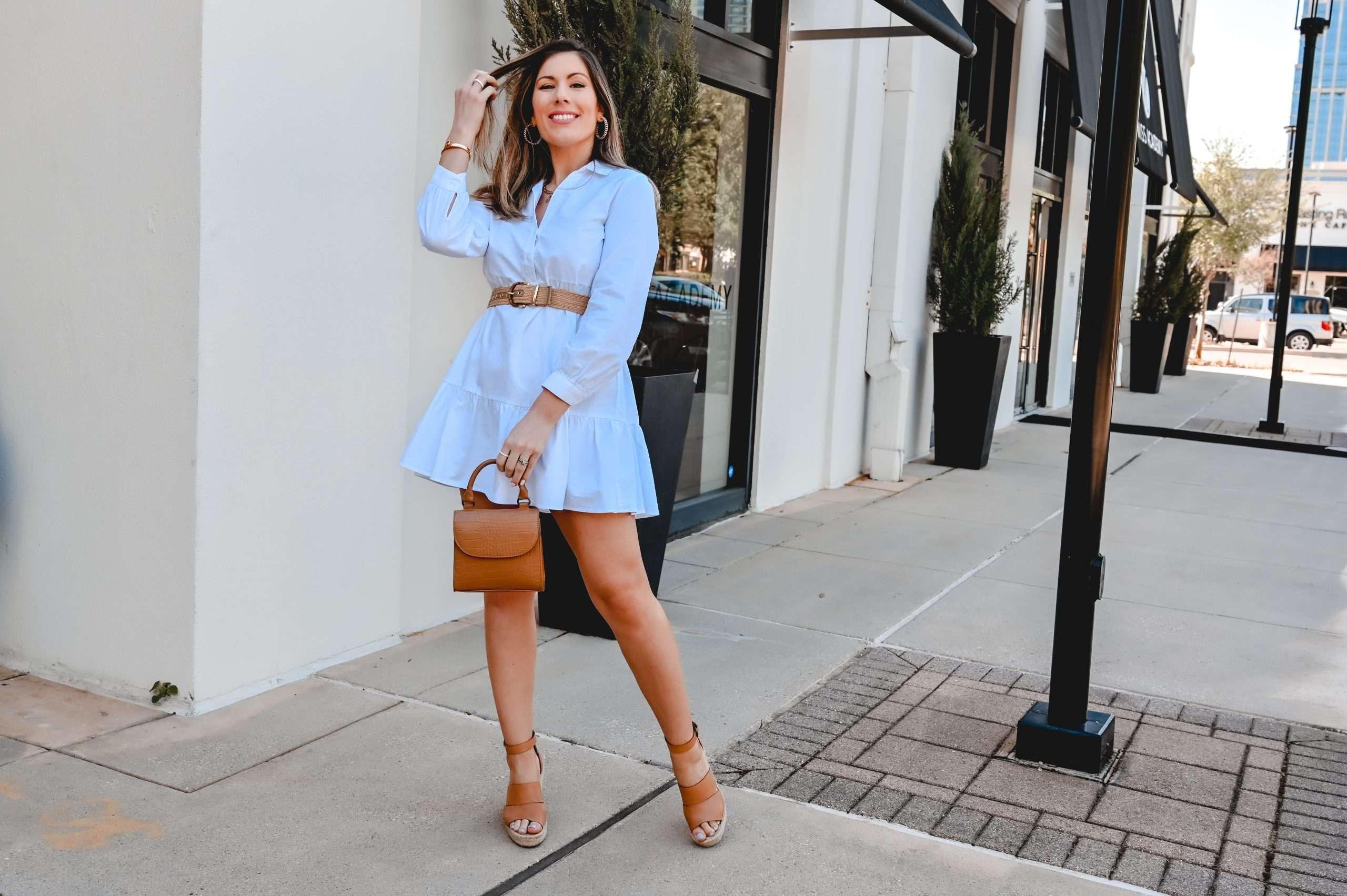 dressy way to style a zara dress